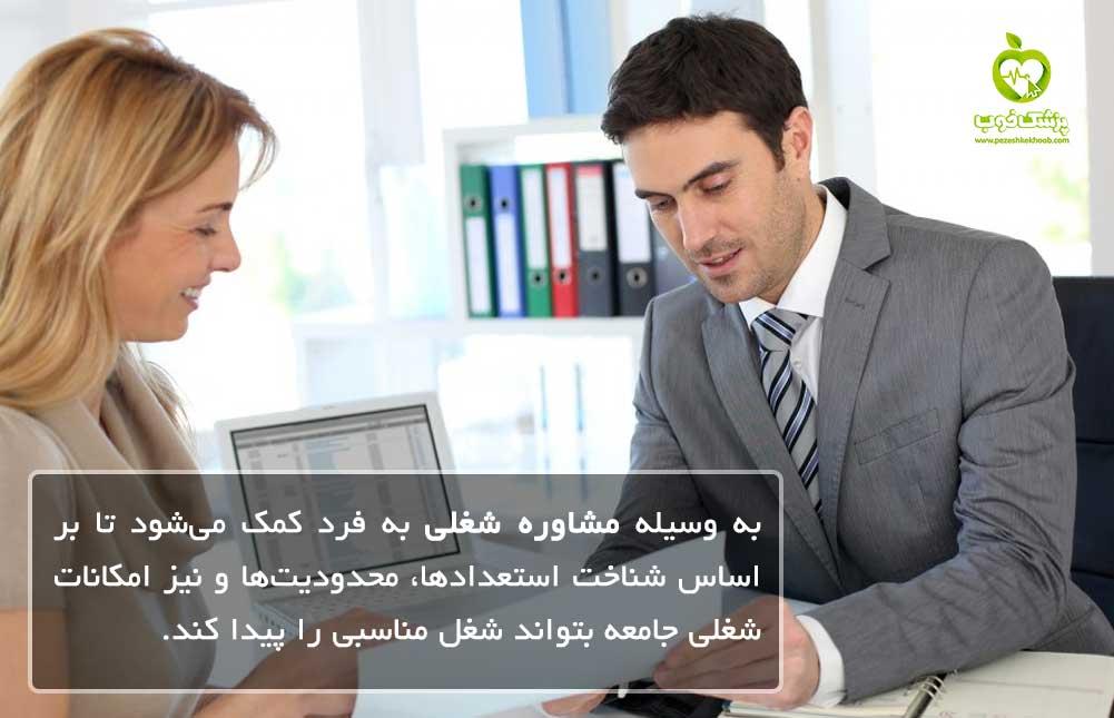 تعریف مشاوره شغلی