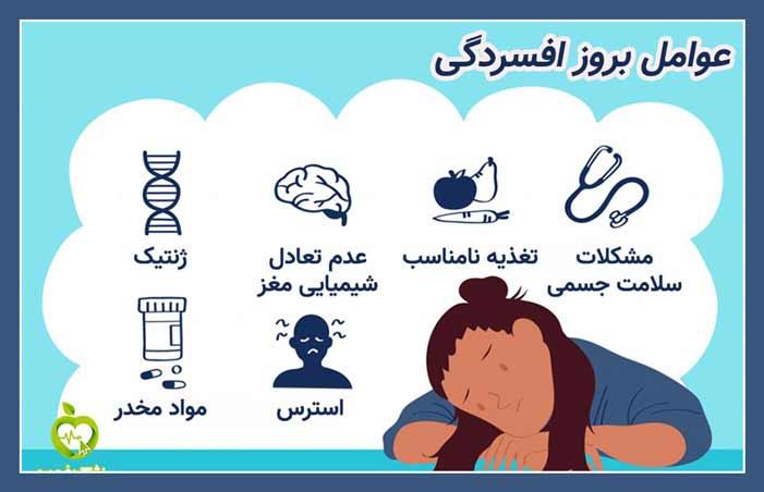 عوامل بروز افسردگی چیست؟