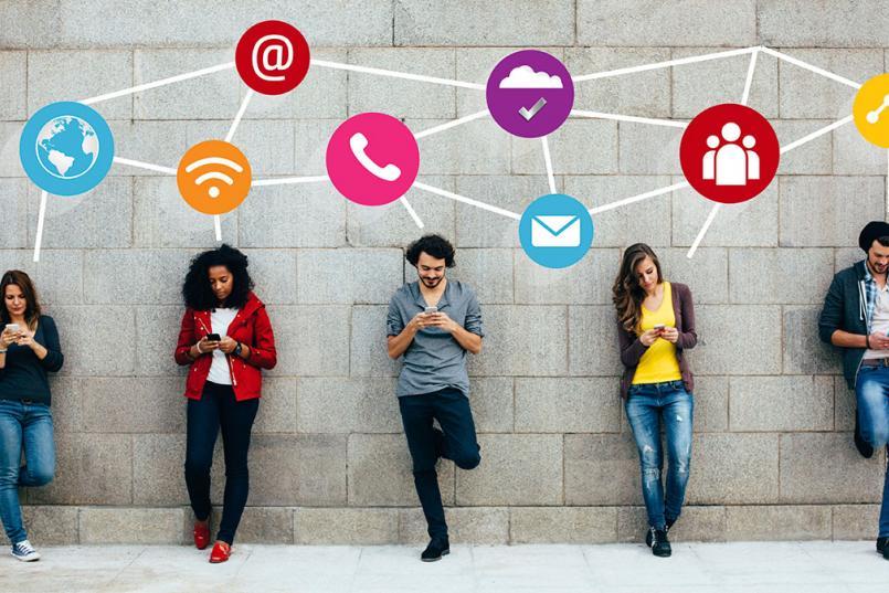نوجوانان و استفاده از فضای مجازی