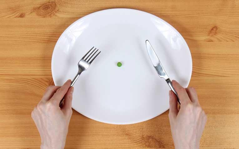 نحوه غذا خوردن در انورکسا نروزا