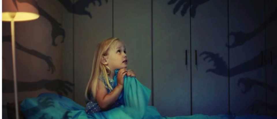 ترس از سایه ها در کودکی