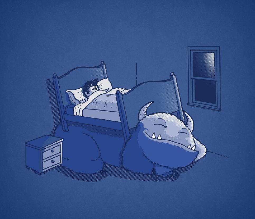 هیولای زیر تخت