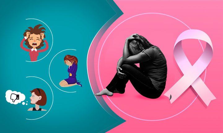 اثرات جانبی سرطان، سرطان و افسردگی، سرطان و اضطراب