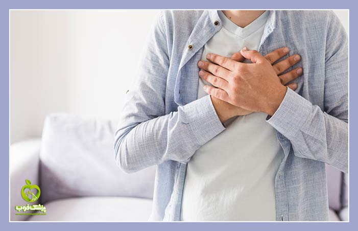 حمله قبلی یکی از عوارض بیماری های قلبی است.