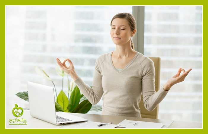 مدیتیشن برای رفع استرس